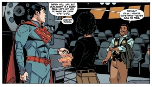 Neil deGrasse Tyson helps Superman find his home, is there anything that man can't do?