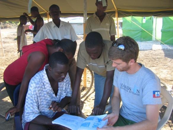 Reading at Ebenezer Camp