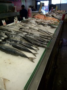 Catch of the day at New May Wah market